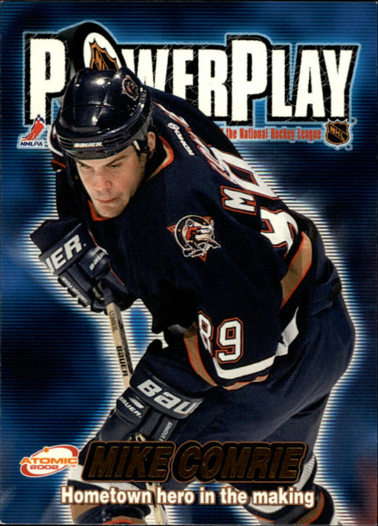 2001-02 Atomic Power Play #15 Mike Comrie