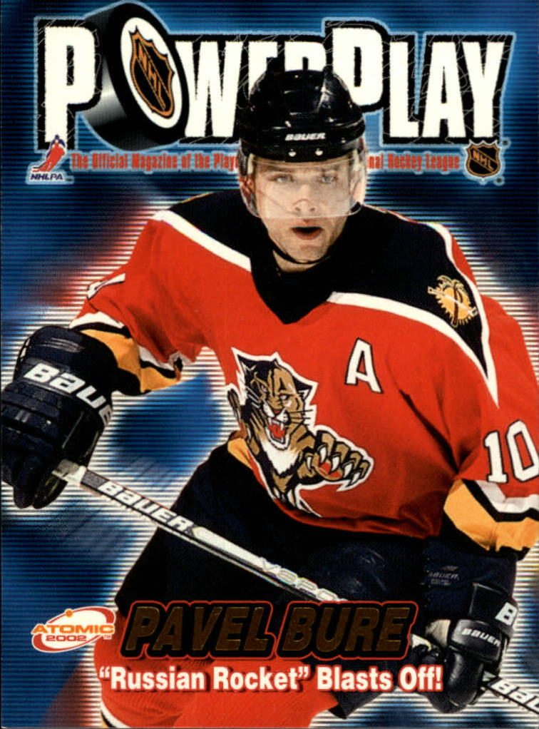 2001-02 Atomic Power Play #16 Pavel Bure