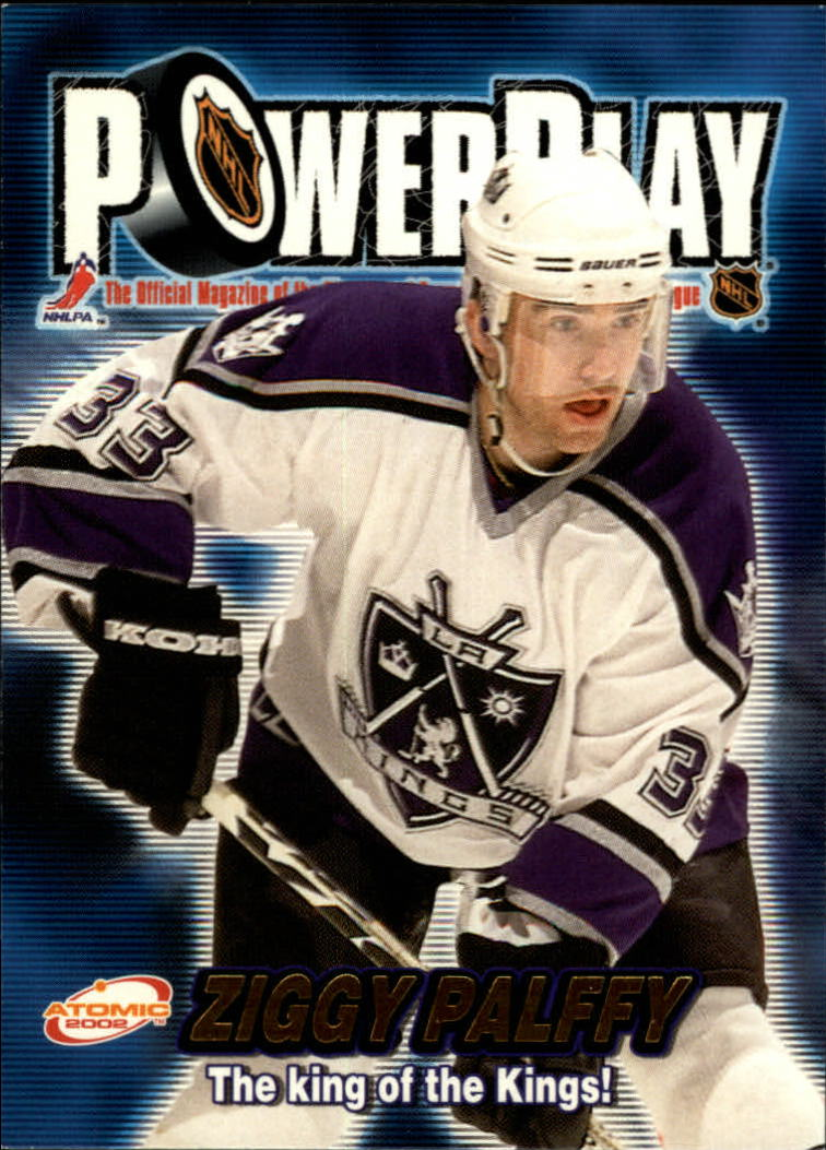 2001-02 Atomic Power Play #17 Zigmund Palffy