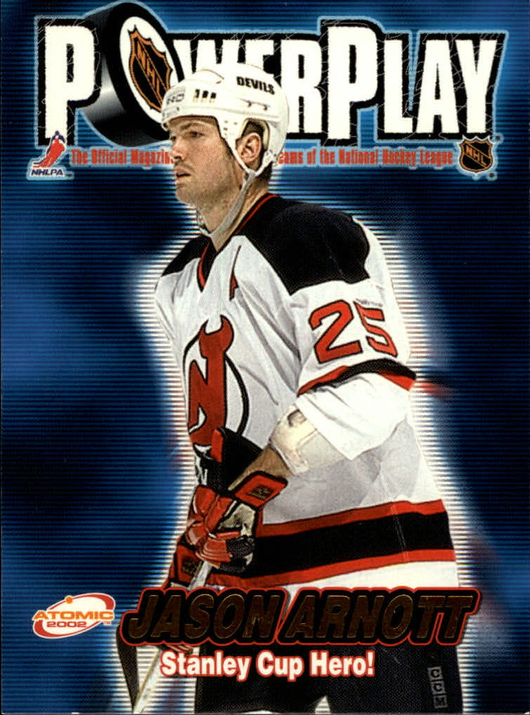 2001-02 Atomic Power Play #20 Jason Arnott