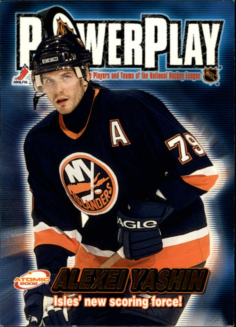 2001-02 Atomic Power Play #21 Alexei Yashin