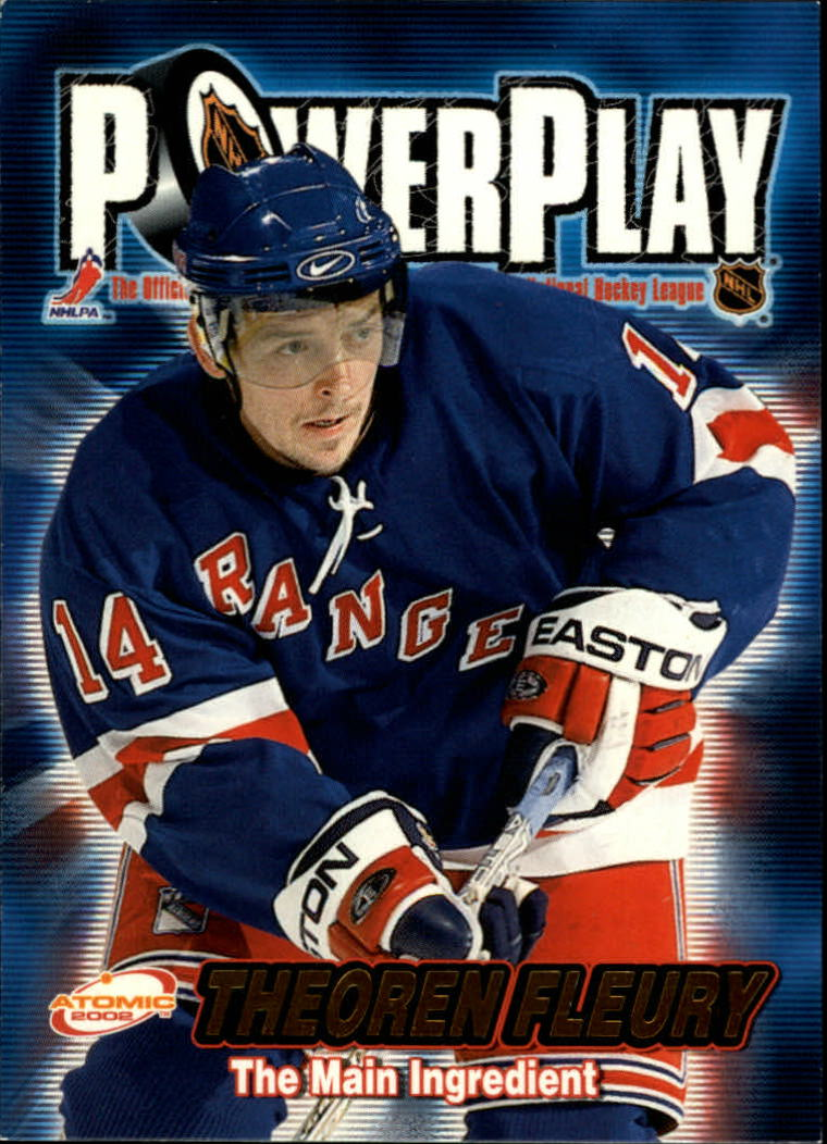 2001-02 Atomic Power Play #22 Theo Fleury