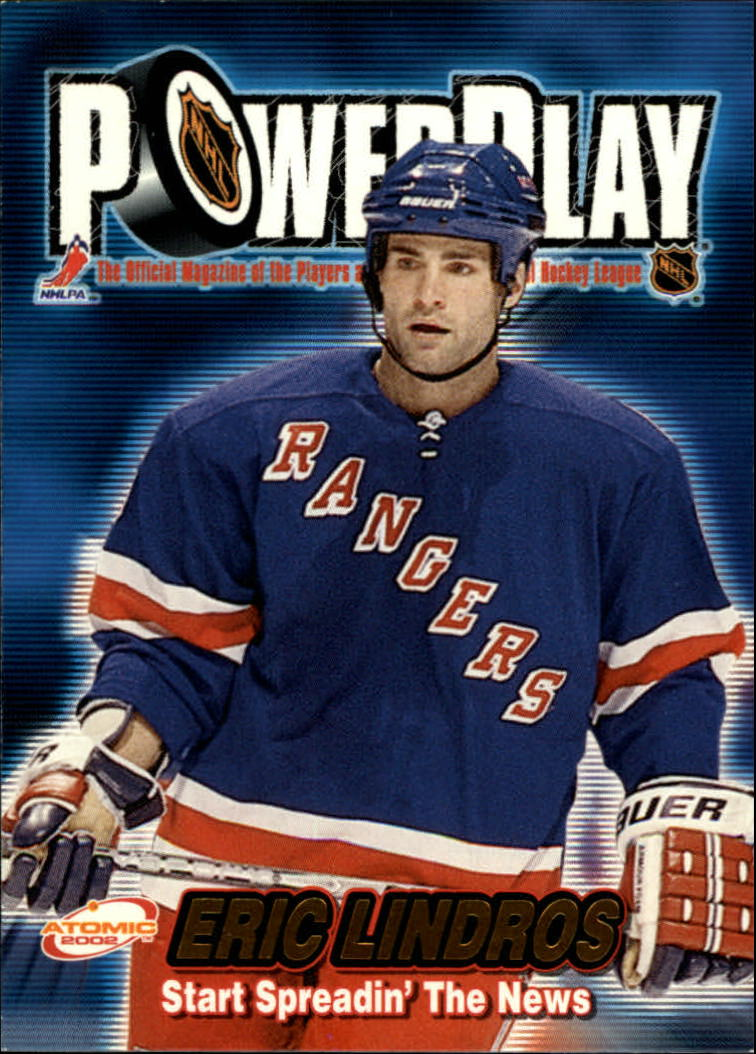 2001-02 Atomic Power Play #23 Eric Lindros