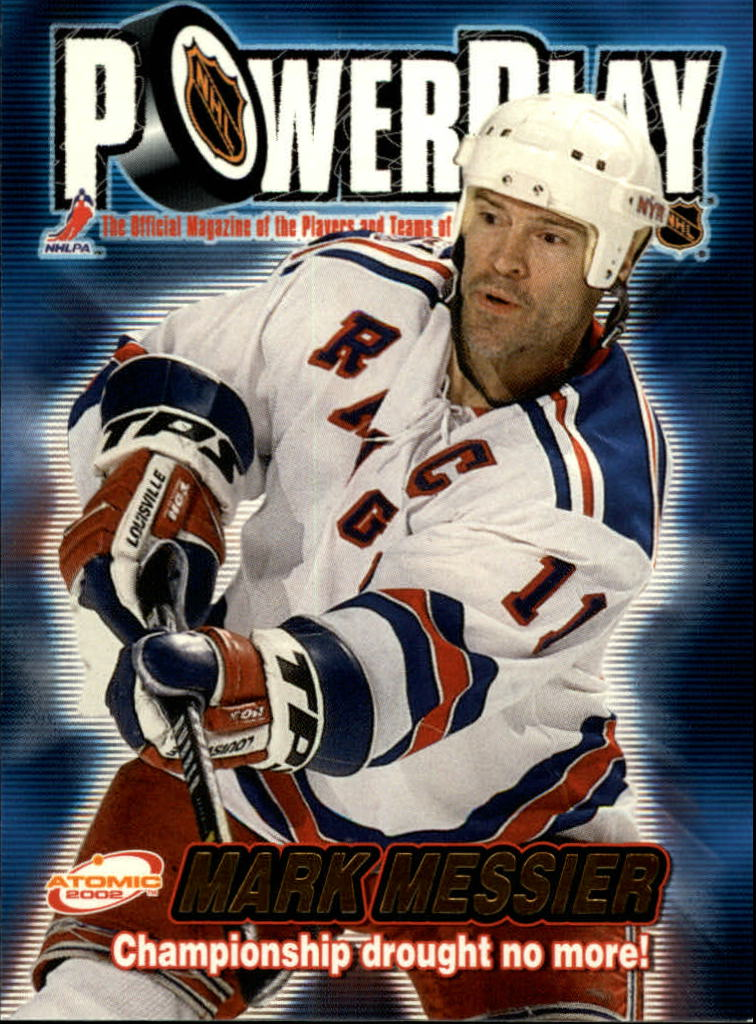 2001-02 Atomic Power Play #24 Mark Messier