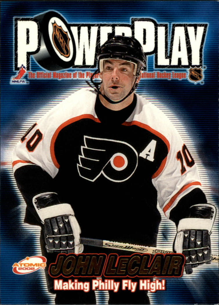 2001-02 Atomic Power Play #26 John LeClair