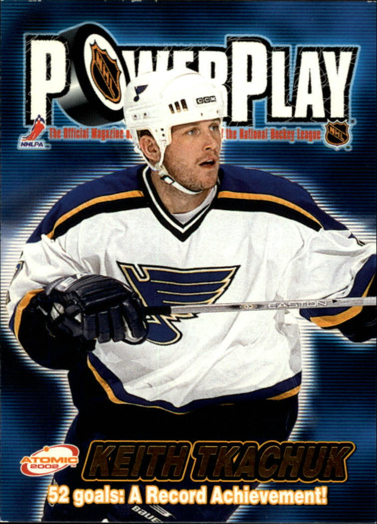 2001-02 Atomic Power Play #29 Keith Tkachuk