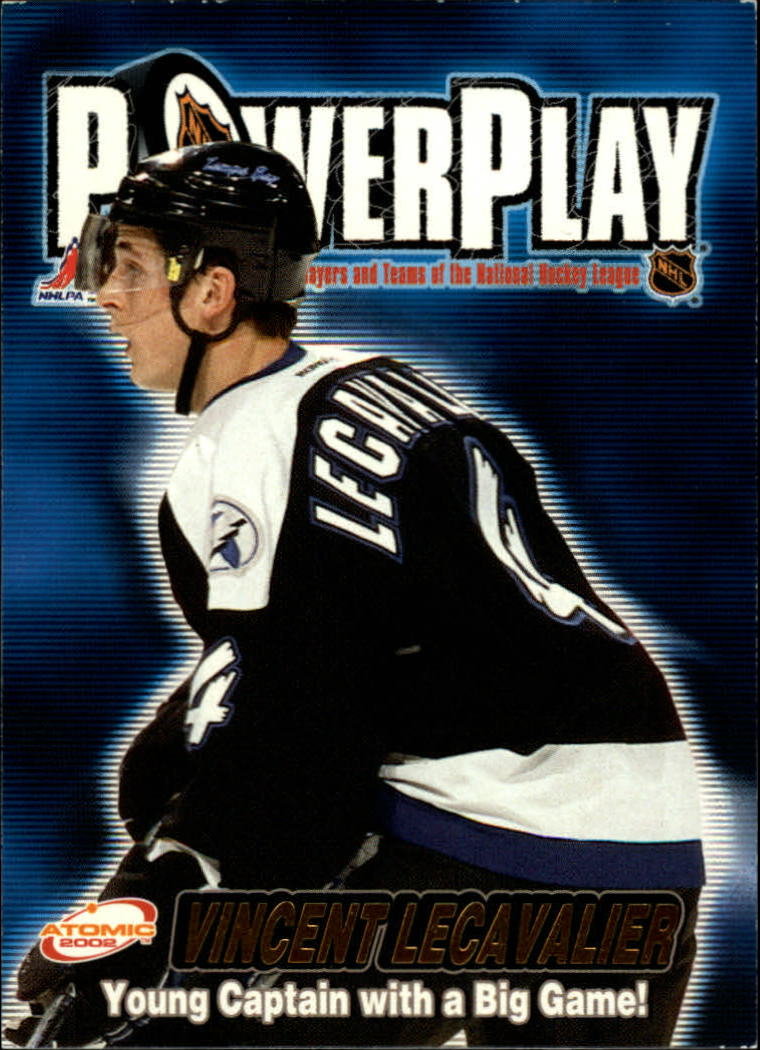 2001-02 Atomic Power Play #31 Vincent Lecavalier