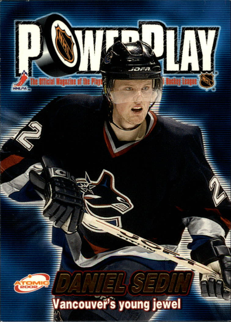 2001-02 Atomic Power Play #33 Daniel Sedin