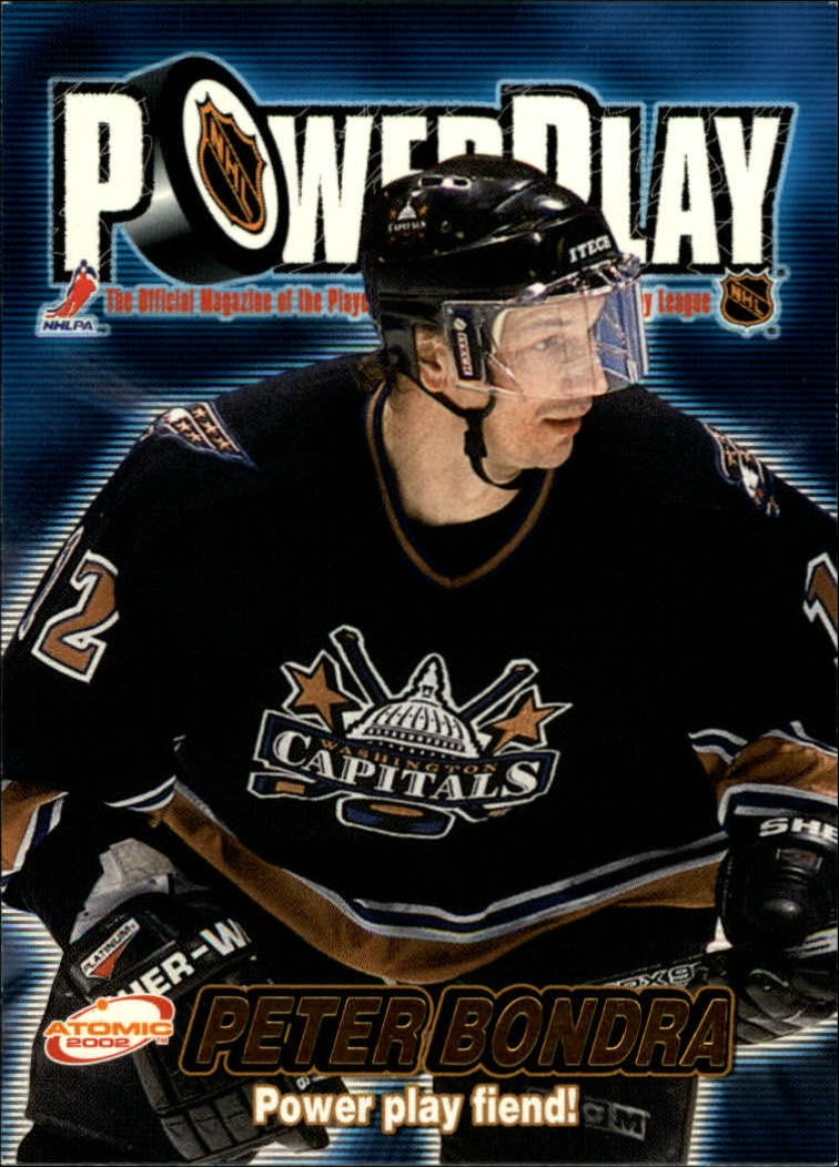 2001-02 Atomic Power Play #35 Peter Bondra