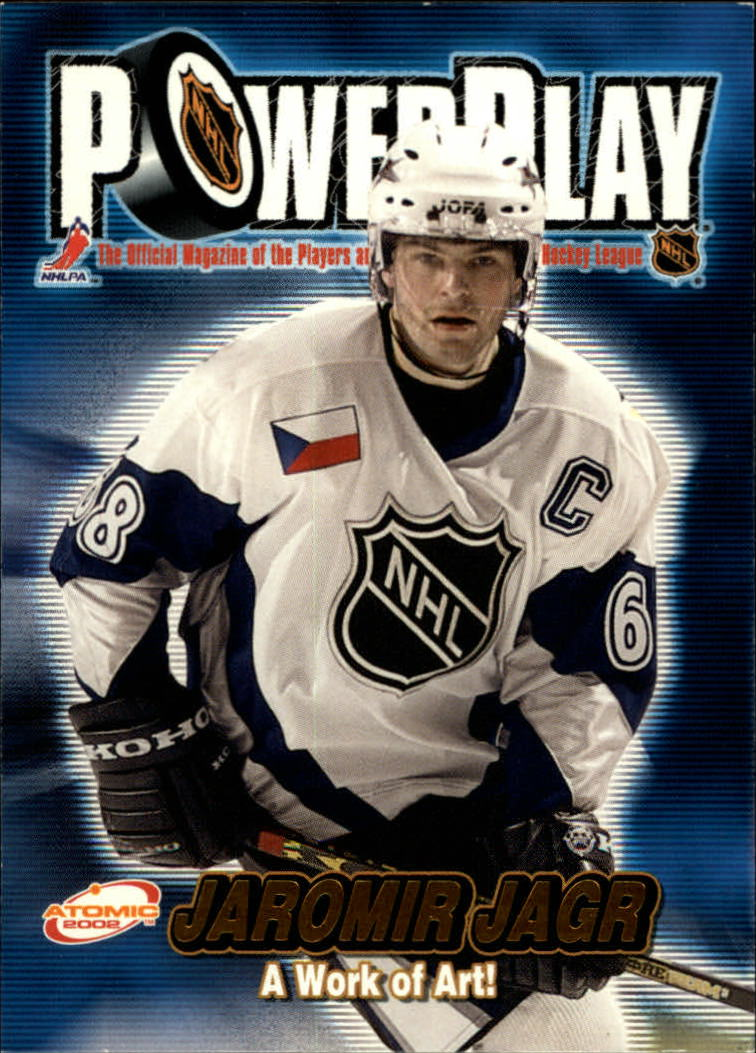 2001-02 Atomic Power Play #36 Jaromir Jagr
