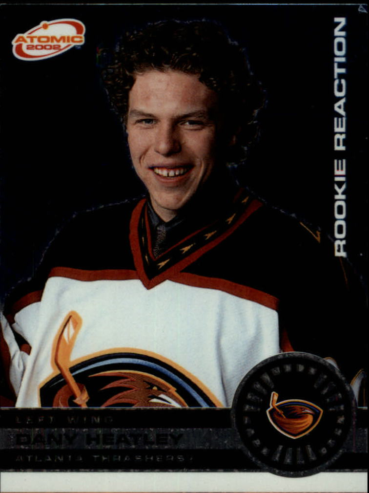 2001-02 Atomic Rookie Reaction #1 Dany Heatley