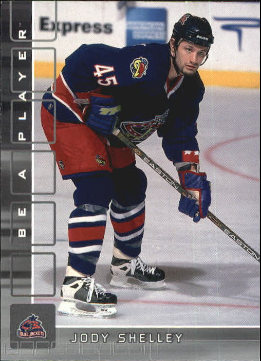 2001-02 BAP Memorabilia #428 Jody Shelley RC