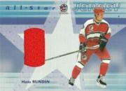 2001-02 BAP Memorabilia All-Star Jerseys #ASJ38 Mats Sundin