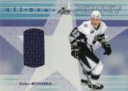 2001-02 BAP Memorabilia All-Star Jerseys #ASJ45 Peter Bondra