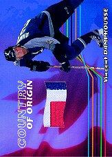 2001-02 BAP Memorabilia Country of Origin #CO45 Vincent Damphousse