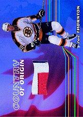 2001-02 BAP Memorabilia Country of Origin #CO50 Joe Thornton