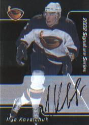 2001-02 BAP Signature Series Autographs #207 Ilya Kovalchuk