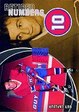 2001-02 BAP Ultimate Memorabilia Retired Numbers #14 Guy Lafleur