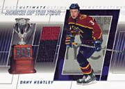2001-02 BAP Ultimate Memorabilia ROY #1 Dany Heatley