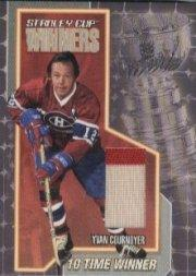 2001-02 BAP Ultimate Memorabilia Stanley Cup Winners #3 Yvan Cournoyer