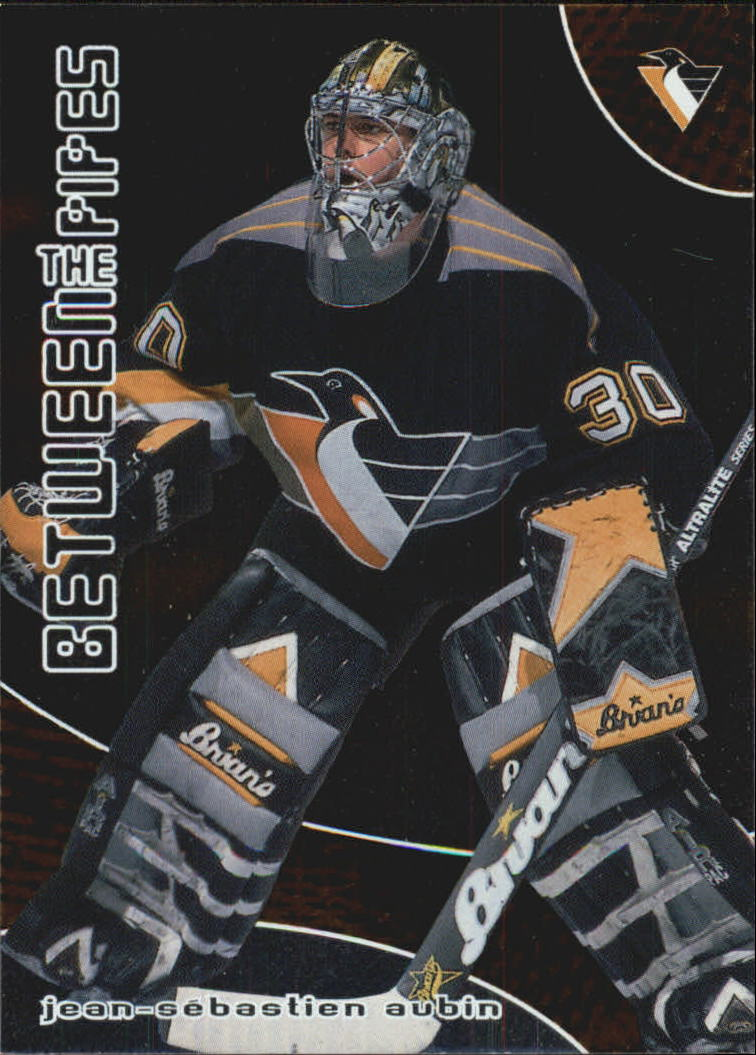 2001-02 Between the Pipes #6 Jean-Sebastien Aubin