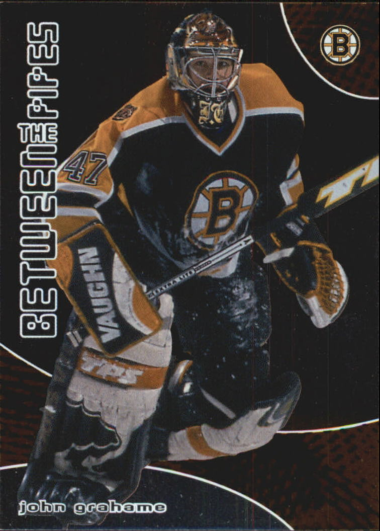 2001-02 Between the Pipes #11 John Grahame