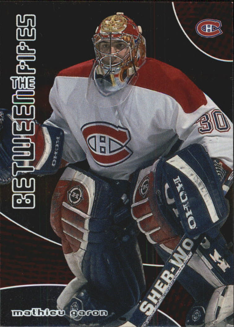 2001-02 Between the Pipes #12 Mathieu Garon