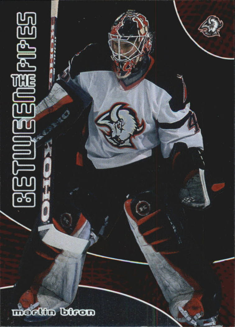 2001-02 Between the Pipes #13 Martin Biron