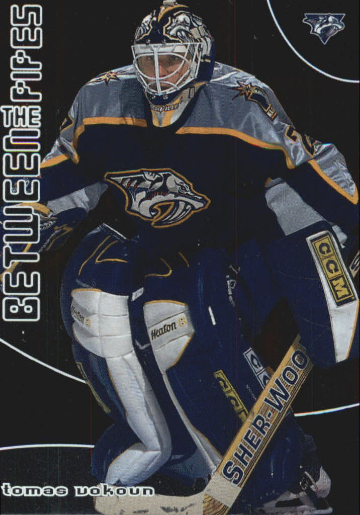2001-02 Between the Pipes #15 Tomas Vokoun
