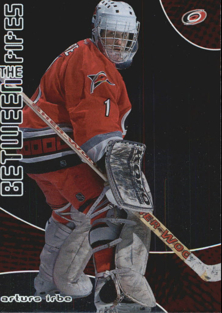 2001-02 Between the Pipes #16 Arturs Irbe