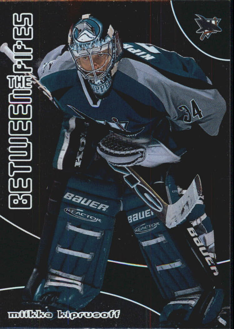 2001-02 Between the Pipes #20 Miikka Kiprusoff