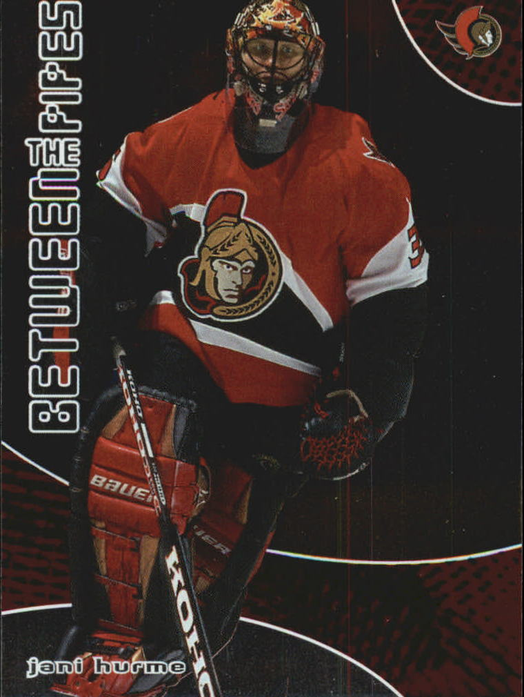 2001-02 Between the Pipes #22 Jani Hurme
