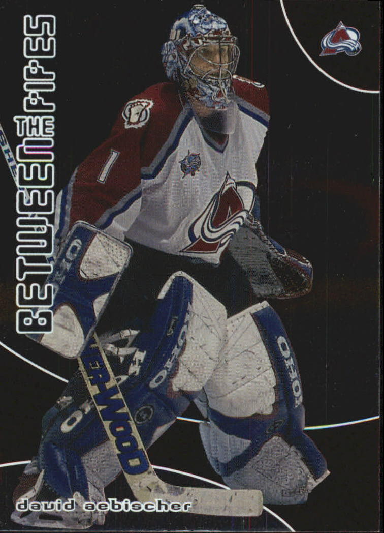 2001-02 Between the Pipes #23 David Aebischer