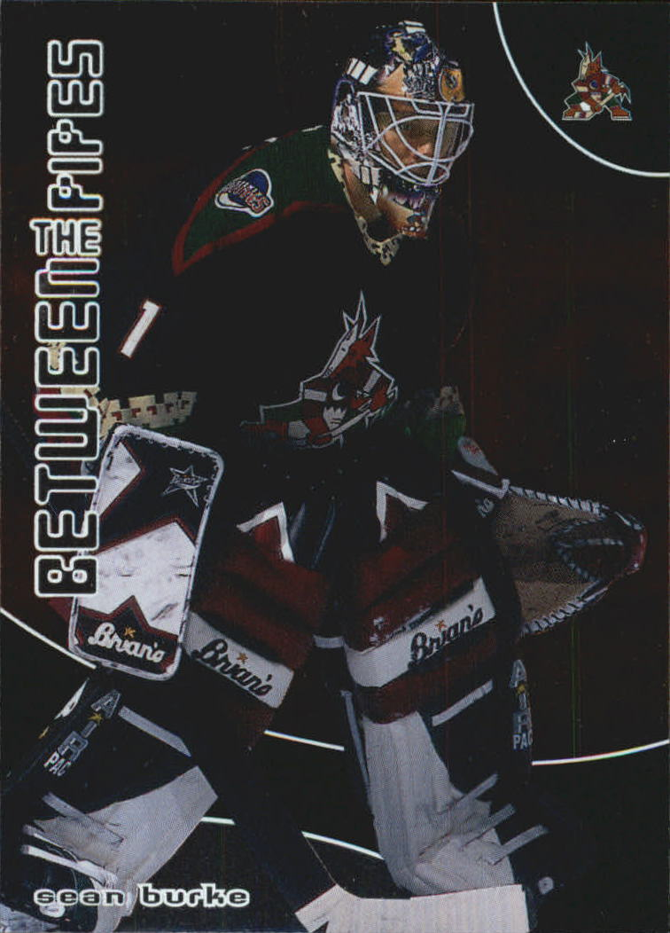 2001-02 Between the Pipes #31 Sean Burke