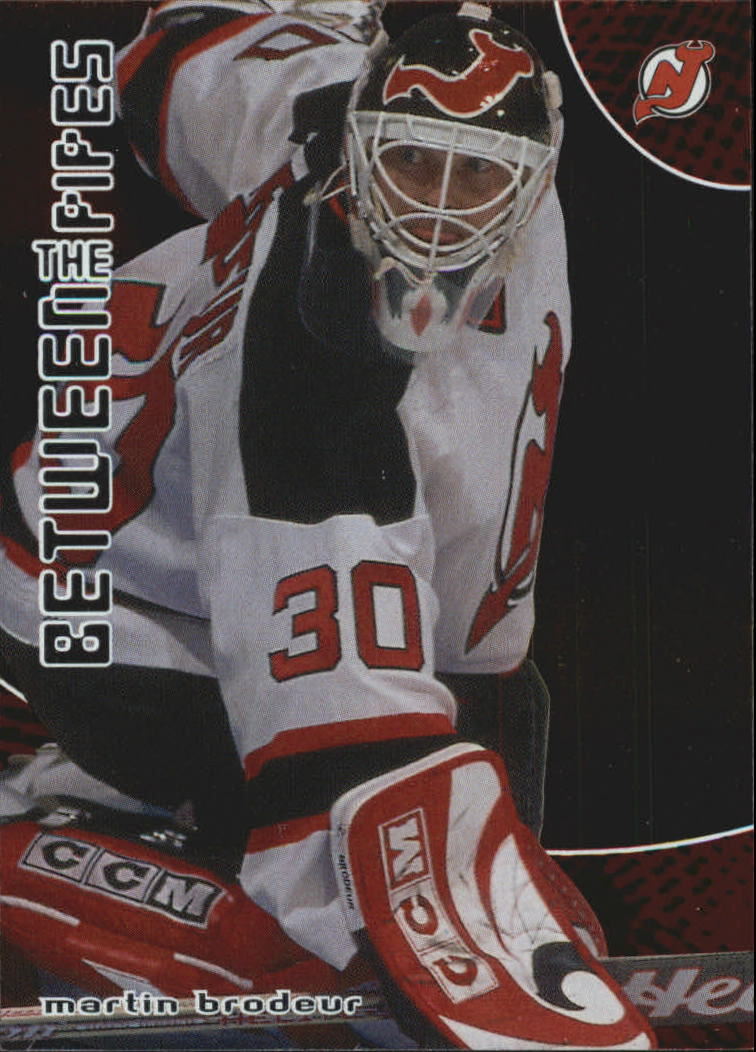 2001-02 Between the Pipes #36 Martin Brodeur