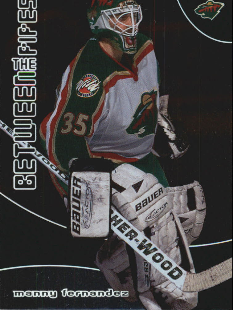 2001-02 Between the Pipes #39 Manny Fernandez