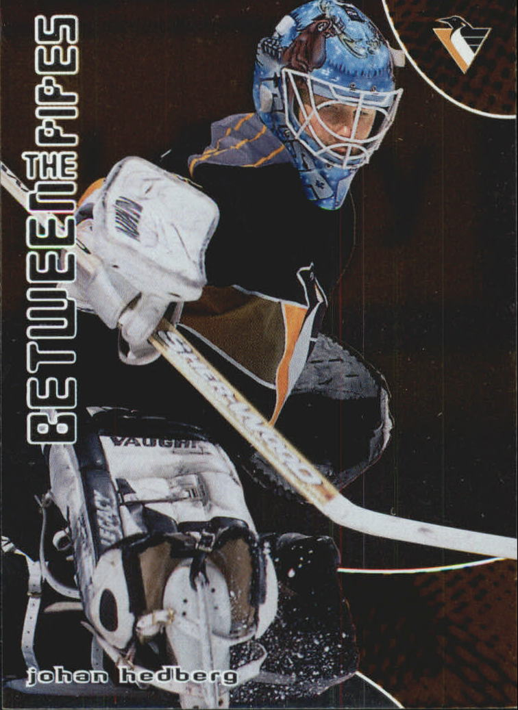 2001-02 Between the Pipes #42 Johan Hedberg