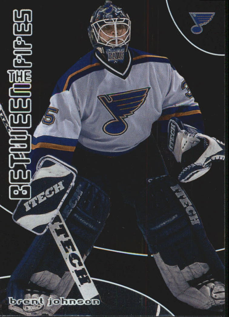 2001-02 Between the Pipes #46 Brent Johnson