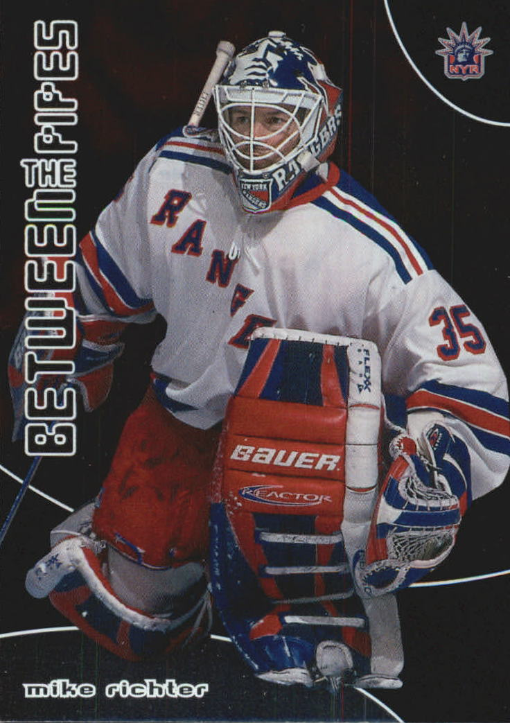2001-02 Between the Pipes #50 Mike Richter