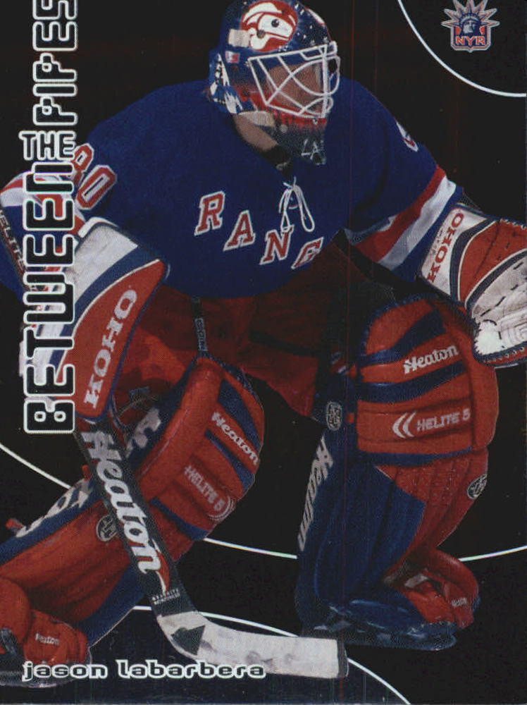 2001-02 Between the Pipes #55 Jason LaBarbera
