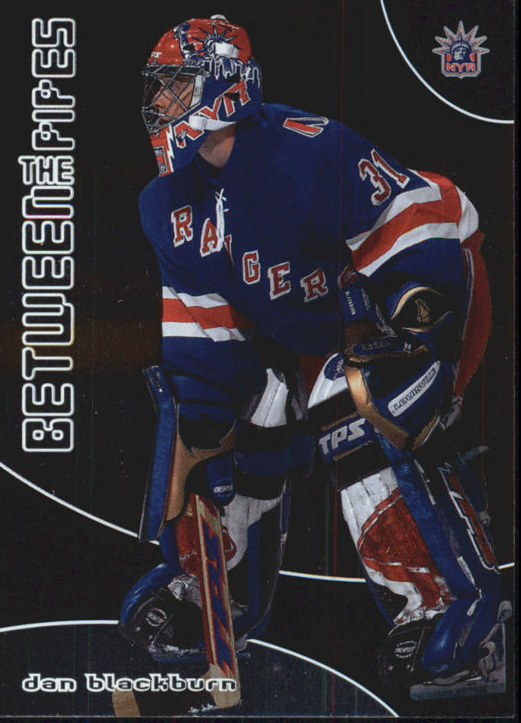 2001-02 Between the Pipes #57 Dan Blackburn RC