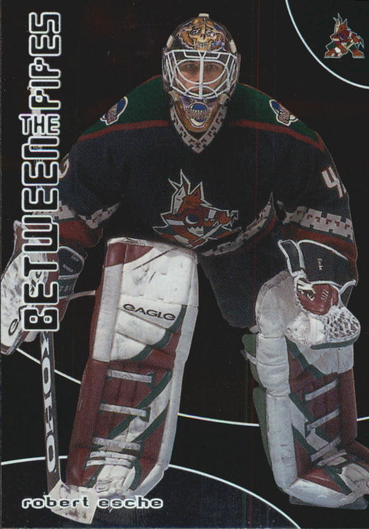 2001-02 Between the Pipes #58 Robert Esche