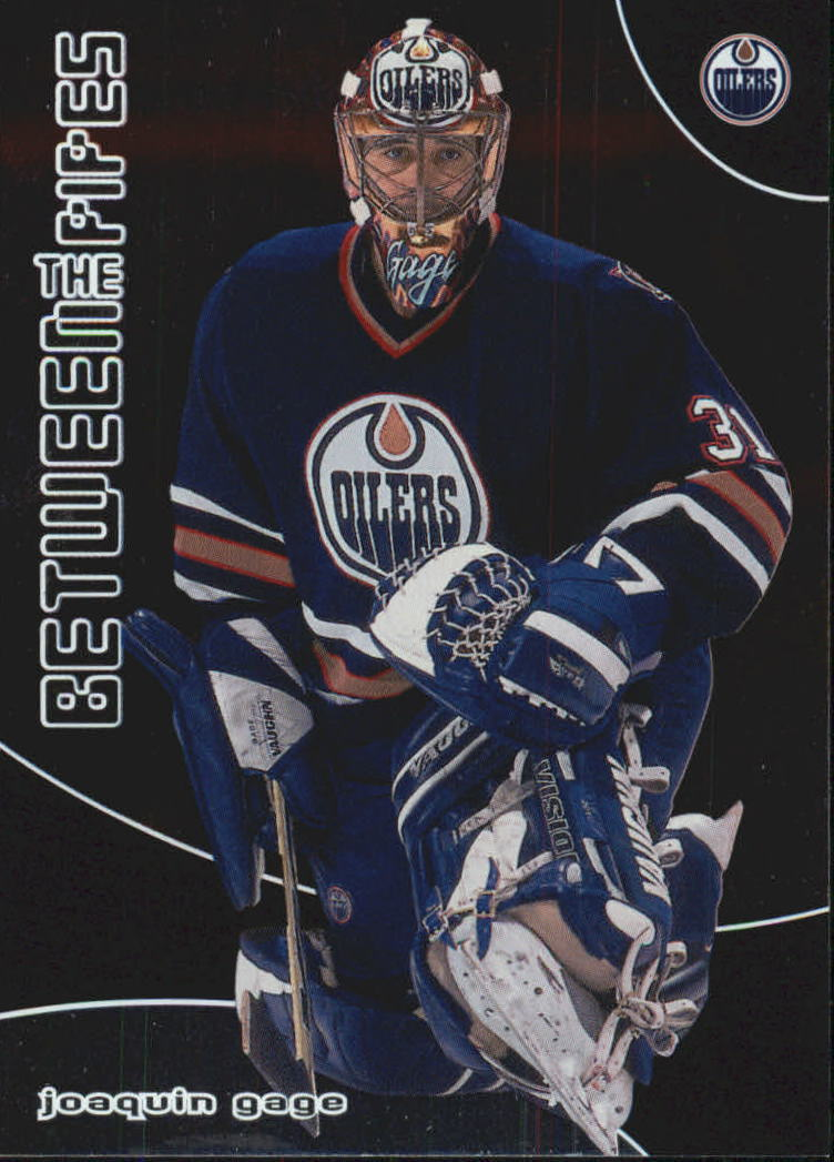 2001-02 Between the Pipes #59 Joaquin Gage