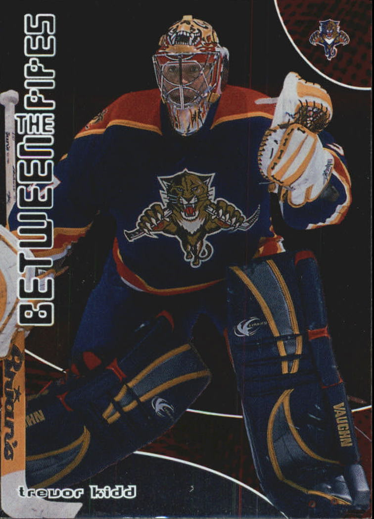 2001-02 Between the Pipes #62 Trevor Kidd