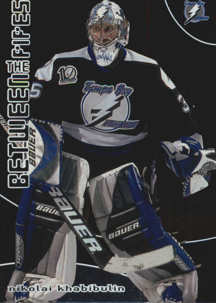 2001-02 Between the Pipes #63 Nikolai Khabibulin