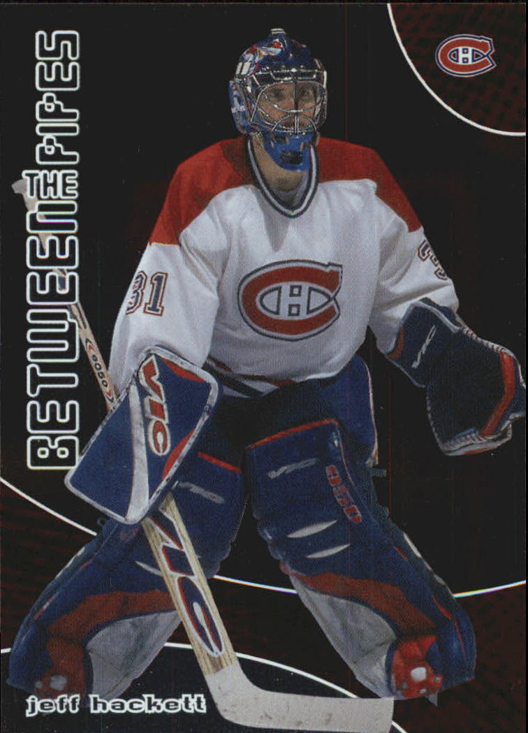 2001-02 Between the Pipes #73 Jeff Hackett