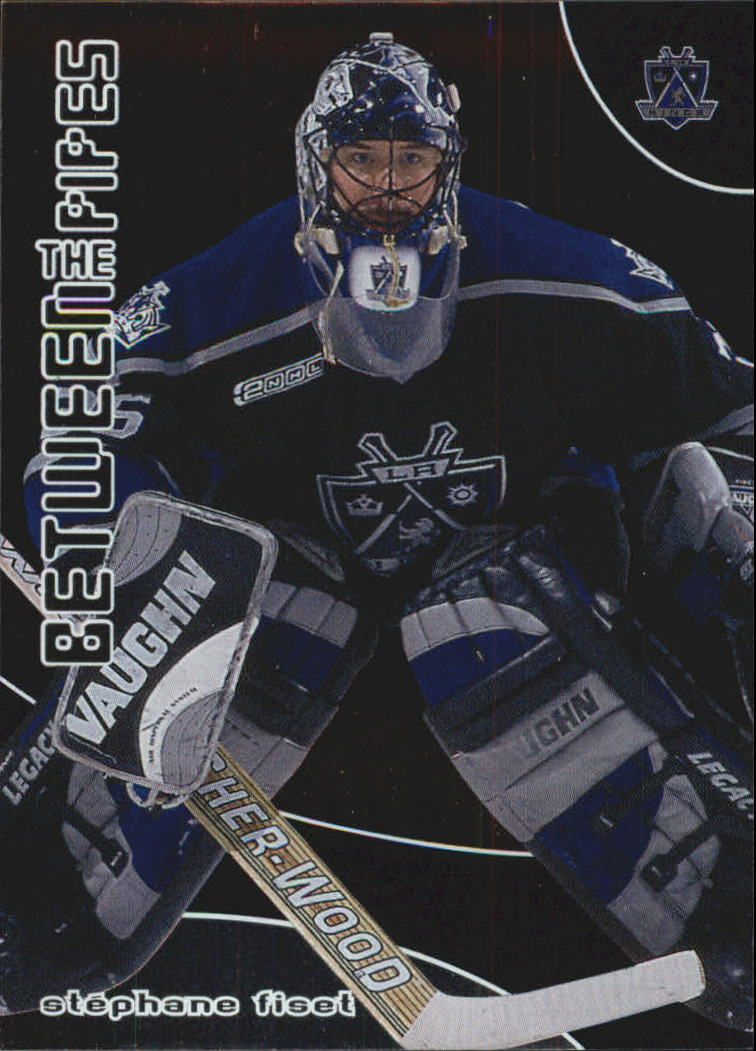 2001-02 Between the Pipes #74 Stephane Fiset