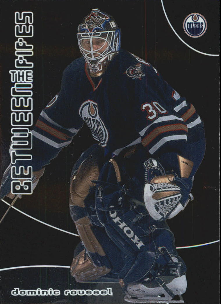 2001-02 Between the Pipes #75 Dominic Roussel