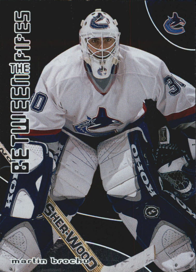 2001-02 Between the Pipes #80 Martin Brochu