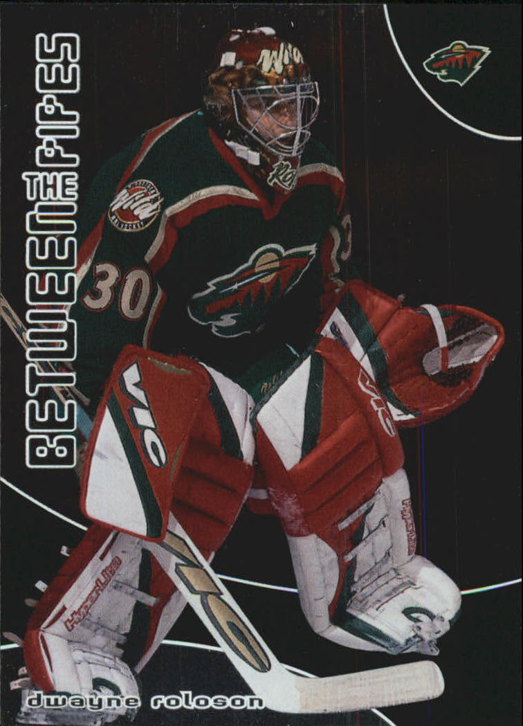 2001-02 Between the Pipes #83 Dwayne Roloson